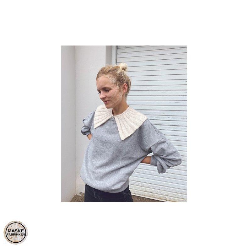PetiteKnit - Sunday Collar, strikkeopskrift (papir)